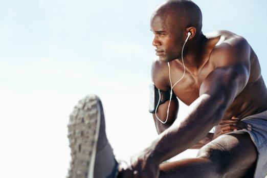 sportifs en entrainement